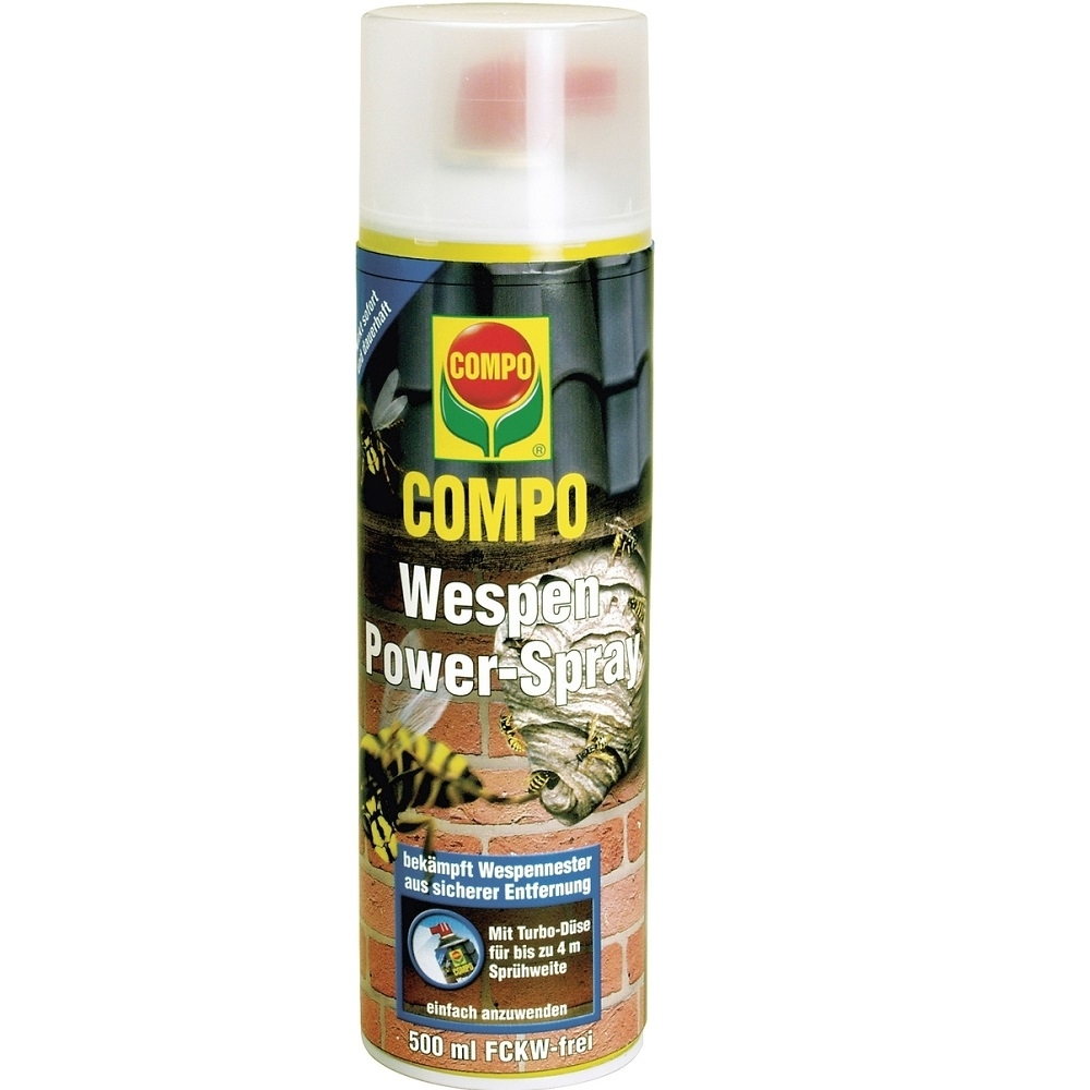 compo wespen power spray 17335 02 500 ml powerd se wespengift wespenspray ebay. Black Bedroom Furniture Sets. Home Design Ideas