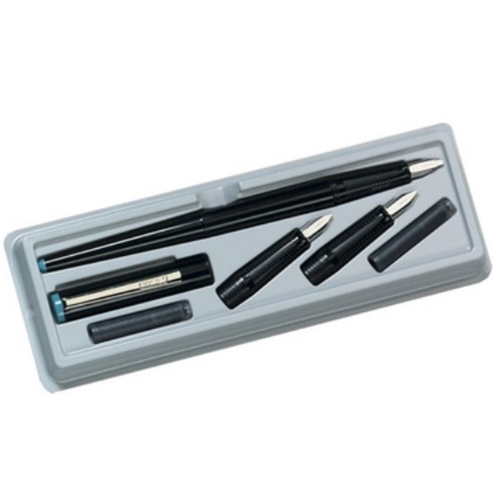 herlitz Kalligraphie Set 5 teilig schwarz