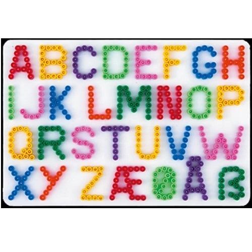 Hama Bugelperlenplatte Buchstaben Fur Midi Bugelperlen Vorlage