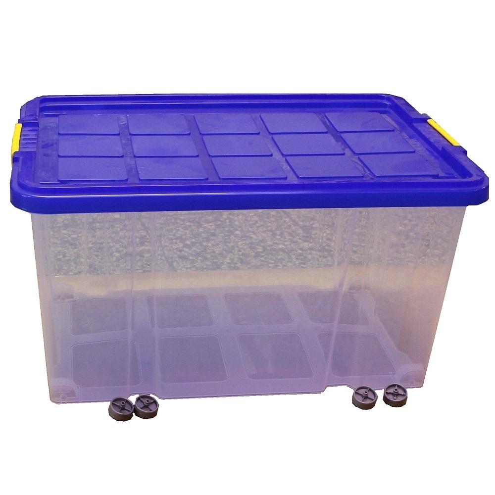 eurobox mit deckel und r der kunststoff 60x40x30 stapelbox allzweckbox boxen ebay. Black Bedroom Furniture Sets. Home Design Ideas